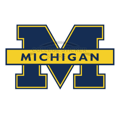 Personal Michigan Wolverines Iron-on Transfers (Wall Stickers)NO.5074