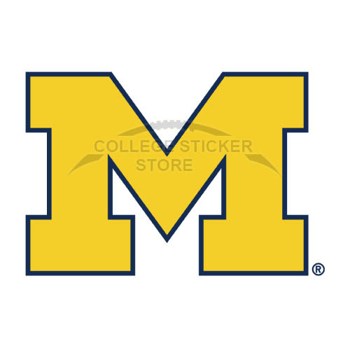 Personal Michigan Wolverines Iron-on Transfers (Wall Stickers)NO.5075