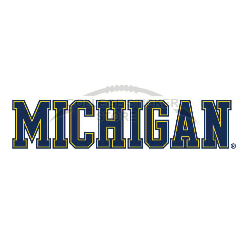 Personal Michigan Wolverines Iron-on Transfers (Wall Stickers)NO.5076