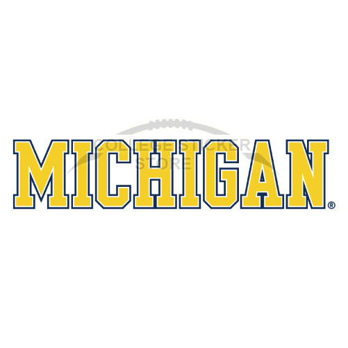 Personal Michigan Wolverines Iron-on Transfers (Wall Stickers)NO.5077