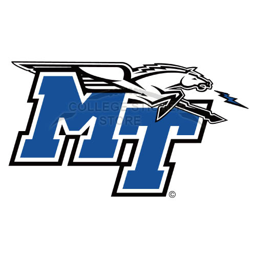 Personal Middle Tennessee Blue Raiders Iron-on Transfers (Wall Stickers)NO.5080