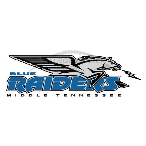 Personal Middle Tennessee Blue Raiders Iron-on Transfers (Wall Stickers)NO.5081