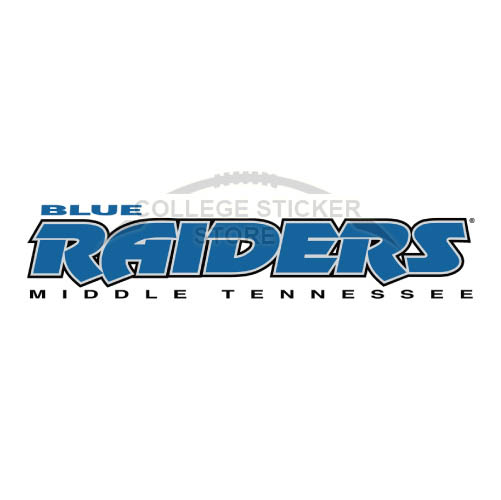 Personal Middle Tennessee Blue Raiders Iron-on Transfers (Wall Stickers)NO.5083