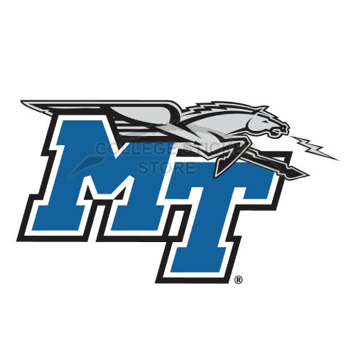 Personal Middle Tennessee Blue Raiders Iron-on Transfers (Wall Stickers)NO.5084