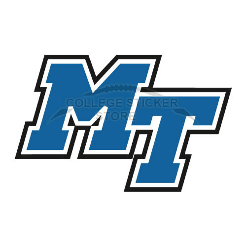 Personal Middle Tennessee Blue Raiders Iron-on Transfers (Wall Stickers)NO.5086