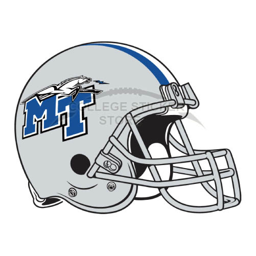 Personal Middle Tennessee Blue Raiders Iron-on Transfers (Wall Stickers)NO.5087