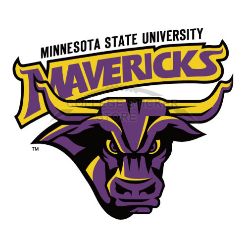 Personal Minnesota State Mavericks Iron-on Transfers (Wall Stickers)NO.5111