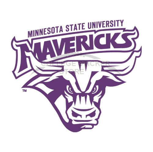 Personal Minnesota State Mavericks Iron-on Transfers (Wall Stickers)NO.5112
