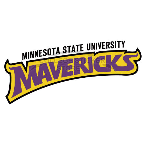 Personal Minnesota State Mavericks Iron-on Transfers (Wall Stickers)NO.5113