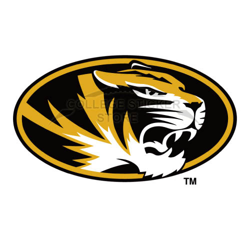 Personal Missouri Tigers Iron-on Transfers (Wall Stickers)NO.5141