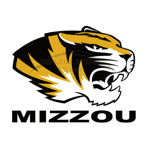 Personal Missouri Tigers Iron-on Transfers (Wall Stickers)NO.5142