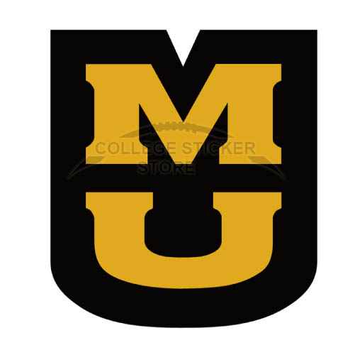 Personal Missouri Tigers Iron-on Transfers (Wall Stickers)NO.5143