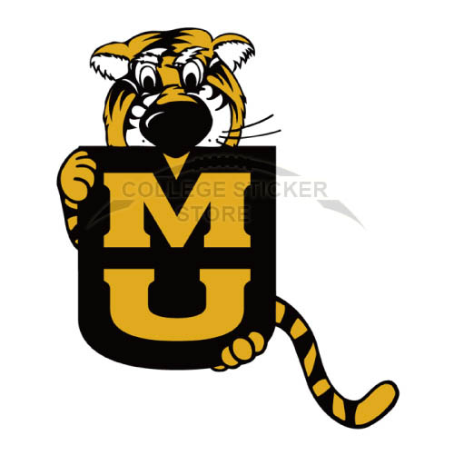 Personal Missouri Tigers Iron-on Transfers (Wall Stickers)NO.5146
