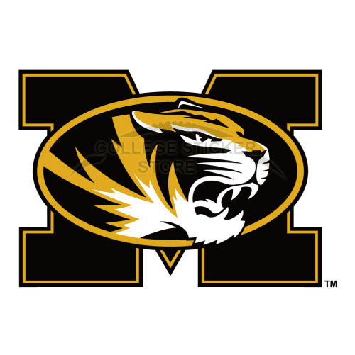 Personal Missouri Tigers Iron-on Transfers (Wall Stickers)NO.5151