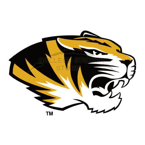 Personal Missouri Tigers Iron-on Transfers (Wall Stickers)NO.5152
