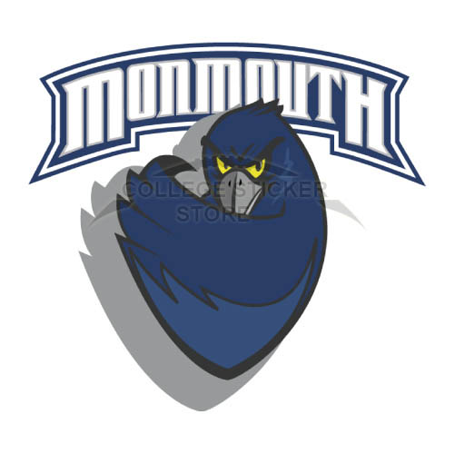 Personal Monmouth Hawks Iron-on Transfers (Wall Stickers)NO.5156