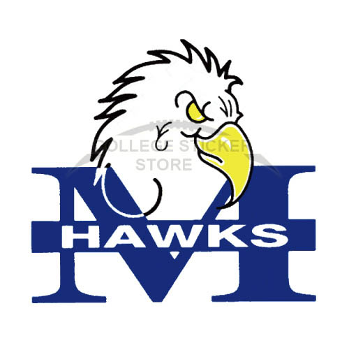 Personal Monmouth Hawks Iron-on Transfers (Wall Stickers)NO.5160