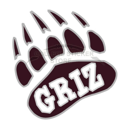 Personal Montana Grizzlies Iron-on Transfers (Wall Stickers)NO.5170