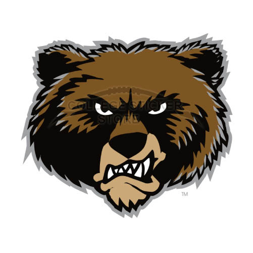 Personal Montana Grizzlies Iron-on Transfers (Wall Stickers)NO.5171