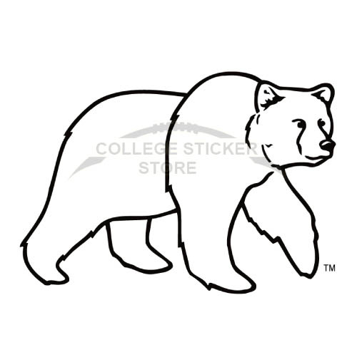 Personal Montana Grizzlies Iron-on Transfers (Wall Stickers)NO.5173