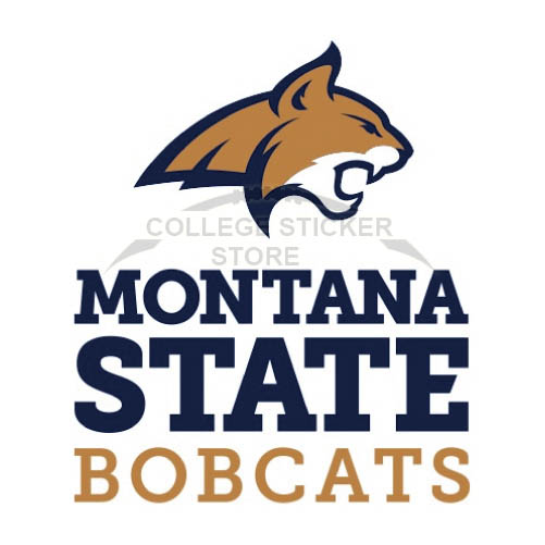 Personal Montana State Bobcats Iron-on Transfers (Wall Stickers)NO.5183