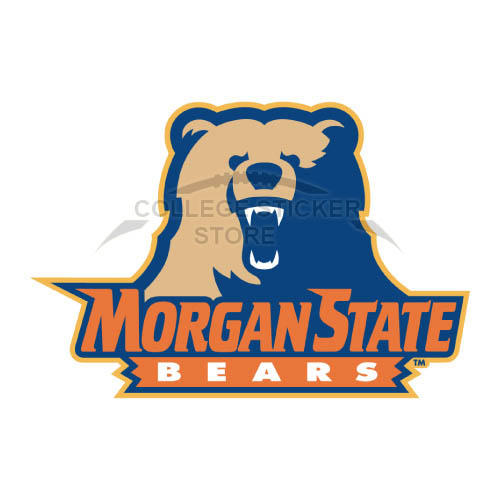Personal Morgan State Bears Iron-on Transfers (Wall Stickers)NO.5198
