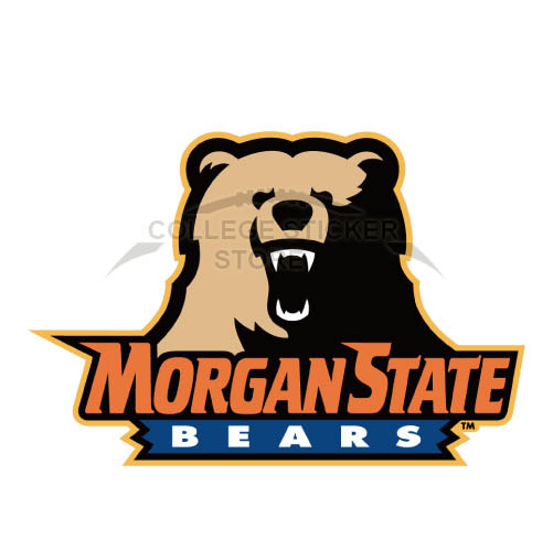 Personal Morgan State Bears Iron-on Transfers (Wall Stickers)NO.5200
