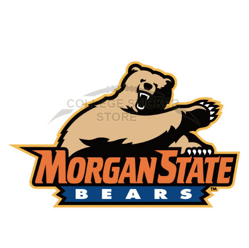 Personal Morgan State Bears Iron-on Transfers (Wall Stickers)NO.5201