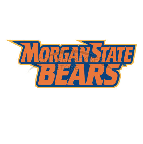 Personal Morgan State Bears Iron-on Transfers (Wall Stickers)NO.5202