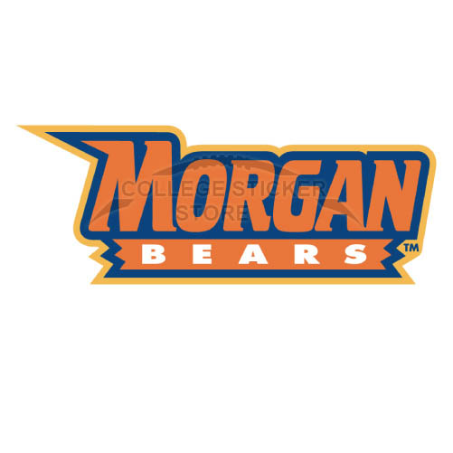 Personal Morgan State Bears Iron-on Transfers (Wall Stickers)NO.5203