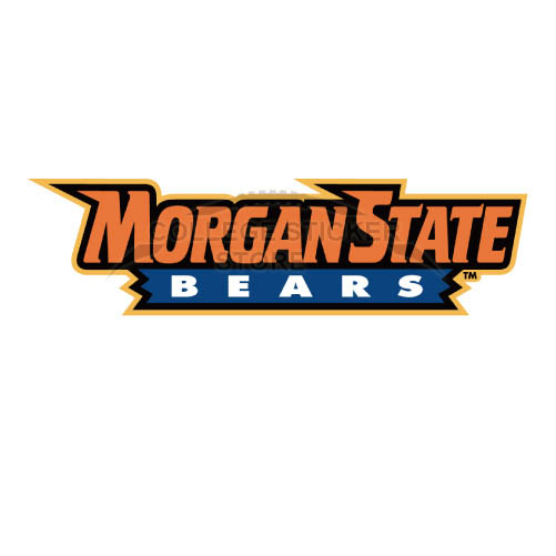 Personal Morgan State Bears Iron-on Transfers (Wall Stickers)NO.5204