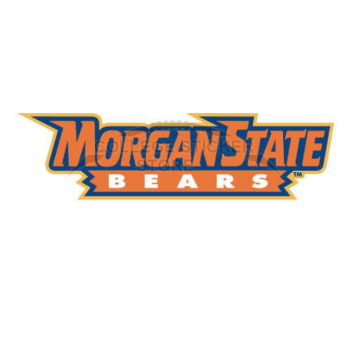 Personal Morgan State Bears Iron-on Transfers (Wall Stickers)NO.5205