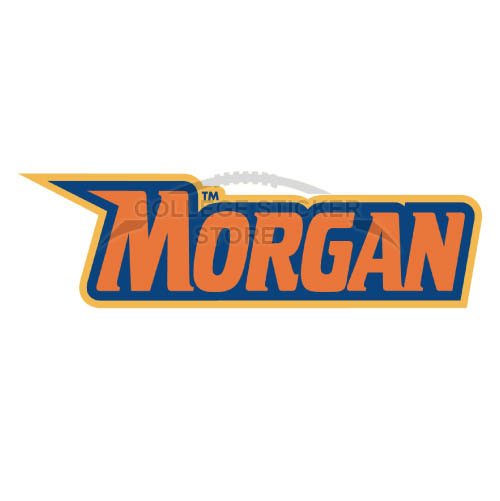 Personal Morgan State Bears Iron-on Transfers (Wall Stickers)NO.5207