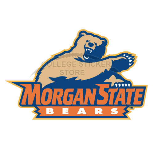 Personal Morgan State Bears Iron-on Transfers (Wall Stickers)NO.5208
