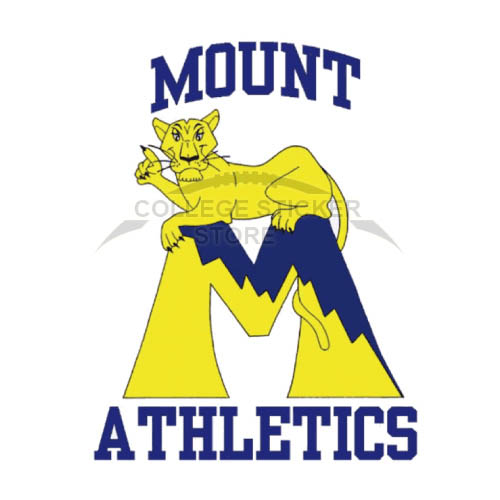 Personal Mount St Marys Mountaineers Iron-on Transfers (Wall Stickers)NO.5211