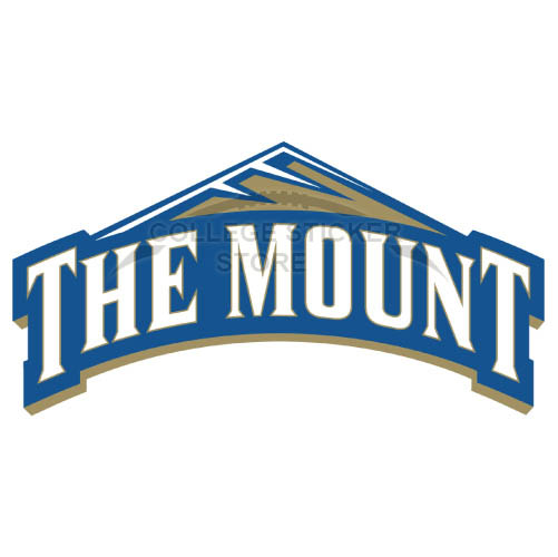 Personal Mount St Marys Mountaineers Iron-on Transfers (Wall Stickers)NO.5212