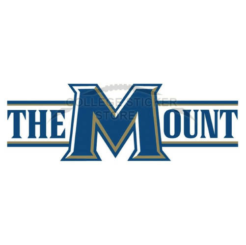 Personal Mount St Marys Mountaineers Iron-on Transfers (Wall Stickers)NO.5213