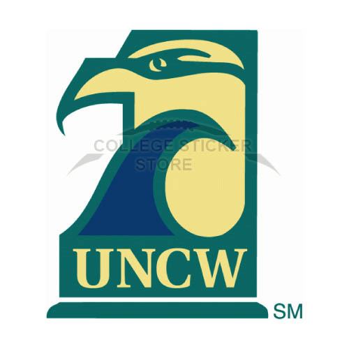 Personal NC Wilmington Seahawks Iron-on Transfers (Wall Stickers)NO.5366