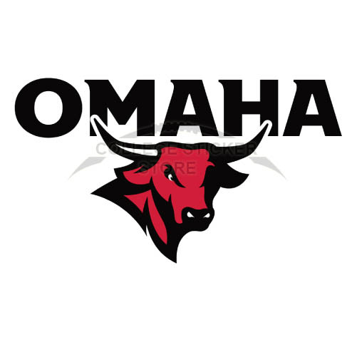 Personal Nebraska Omaha Mavericks Iron-on Transfers (Wall Stickers)NO.5393