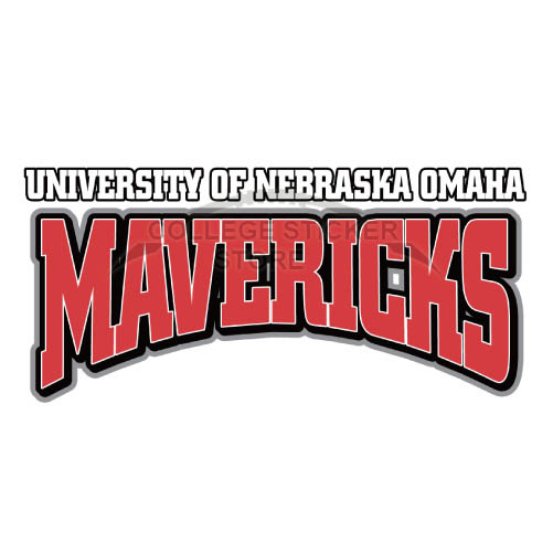Personal Nebraska Omaha Mavericks Iron-on Transfers (Wall Stickers)NO.5397