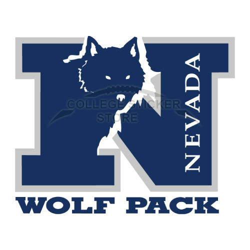 Personal Nevada Wolf Pack Iron-on Transfers (Wall Stickers)NO.5401