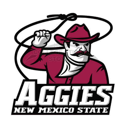 Personal New Mexico State Aggies Iron-on Transfers (Wall Stickers)NO.5433