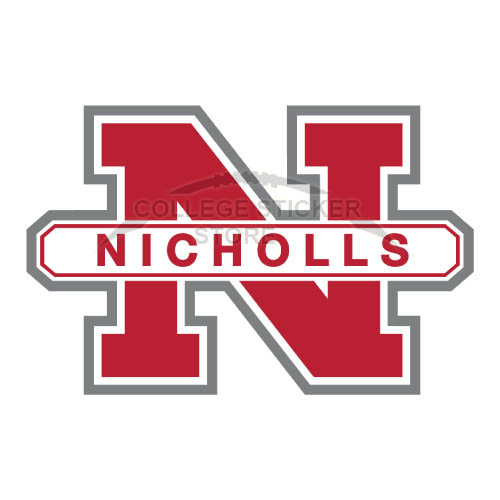 Personal Nicholls State Colonels Iron-on Transfers (Wall Stickers)NO.5458