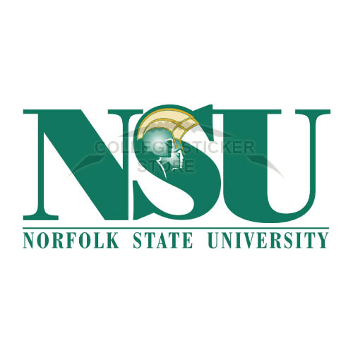Personal Norfolk State Spartans Iron-on Transfers (Wall Stickers)NO.5471