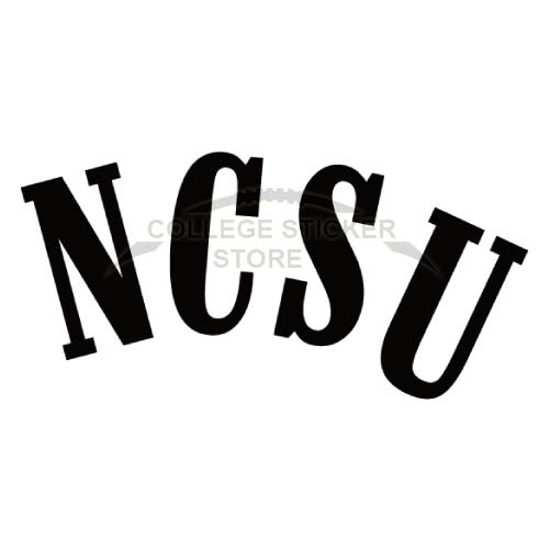 Personal North Carolina State Wolfpack Iron-on Transfers (Wall Stickers)NO.5500