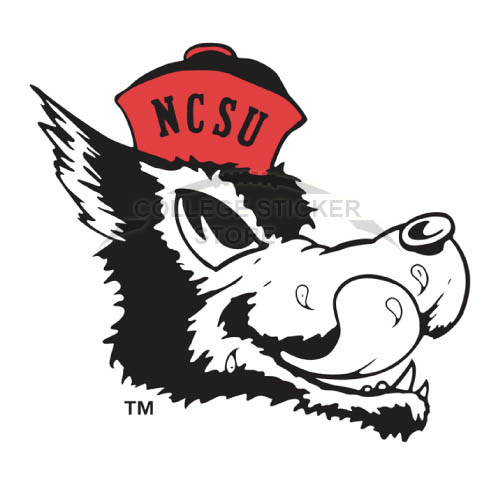 Personal North Carolina State Wolfpack Iron-on Transfers (Wall Stickers)NO.5502