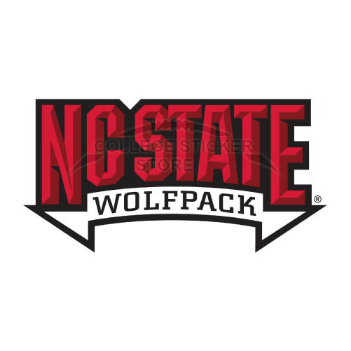 Personal North Carolina State Wolfpack Iron-on Transfers (Wall Stickers)NO.5508