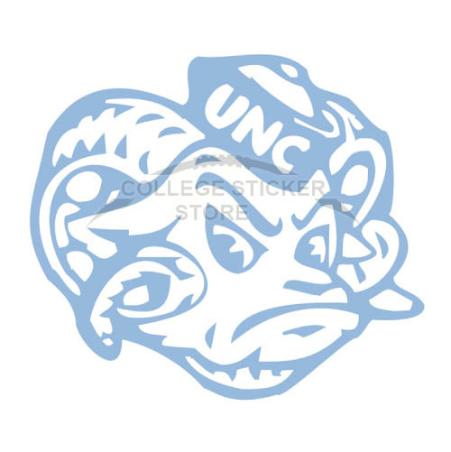north carolina tar heels stickers design college ncaa sports iron ons and wall decals online. Black Bedroom Furniture Sets. Home Design Ideas