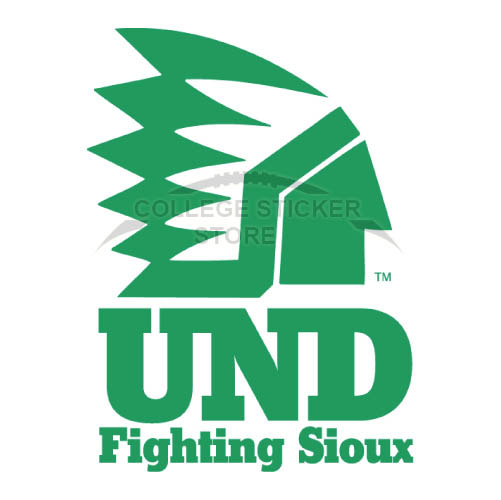 Personal North Dakota Fighting Sioux Iron-on Transfers (Wall Stickers)NO.5586