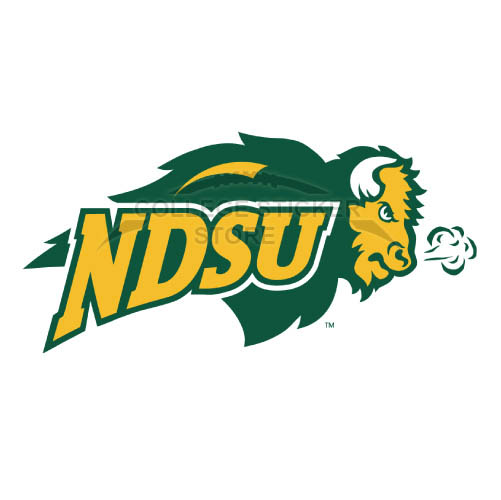 Personal North Dakota State Bison Iron-on Transfers (Wall Stickers)NO.5593
